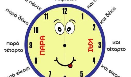 Μέτρηση του χρόνου: Η ώρα